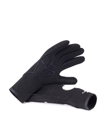 Rip Curl Flash Bomb 5mm Wetsuit Gloves - Black