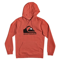 Quiksilver Square Me Up Hoody - Chili