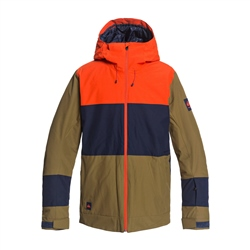 Quiksilver Sycamore Tech Jacket - Military Olive