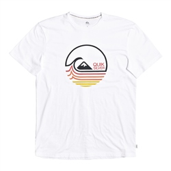 Quiksilver Lazy Minds T - White