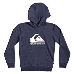 Quiksilver Big Logo Hoody - Parisian Night