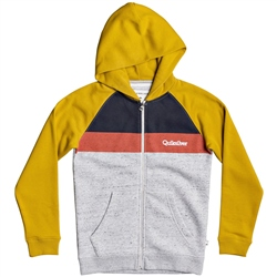 Quiksilver Easy Day Zipped Screen Hoody - Honey
