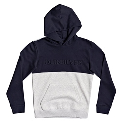 Quiksilver Embossed Block Hoody - Parisian Night