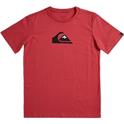 Quiksilver Comp Logo T-Shirt - American Red
