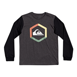 Quiksilver The Boldness T-Shirt - Charcoal Heather