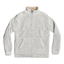 Quiksilver Boketto Jumper - Light Grey Heather