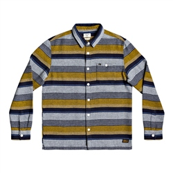 Quiksilver Lineup Distraction Shirt - Honey Lineup