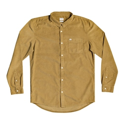 Quiksilver Smoke Trail Shirt - Dull Gold