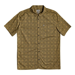 Quiksilver Threads Print Shirt - Dull Gold
