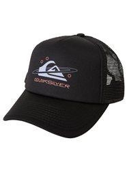 Quiksilver Filtration Trucker Cap - Black