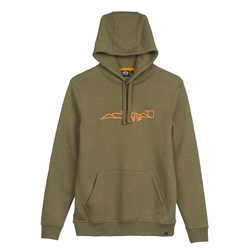Animal Arkheia Hoody - Winter Moss Green Marl