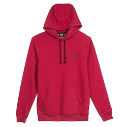 Animal Laidback Hoody - Dahlia Red Marl