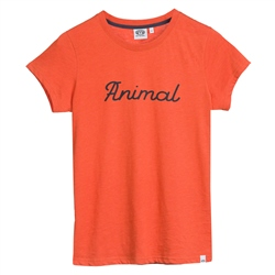 Animal Lowgo T-Shirt - Chilli Red Marl