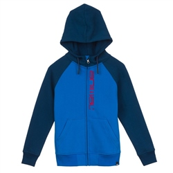 Animal Humming Zipped Hoody - Directoire Blue
