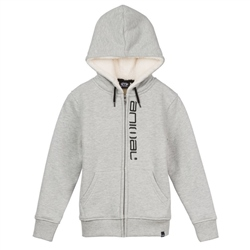 Animal Stanto Fur Zipped Hoody - Grey Marl