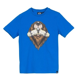 Animal Gnaw T-Shirt - Blue
