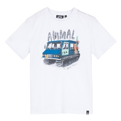 Animal Murphy T-Shirt - White