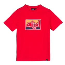 Animal Retro T-Shirt - Mars Red
