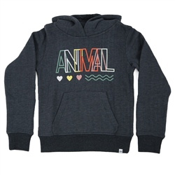 Animal Rachelle Hoody - India Ink Blue Marl