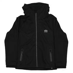 Animal Visceral Hoody Zipped Fleece - Black