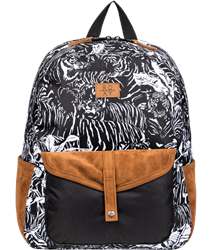 Roxy Carribean 18L Backpack - Anthracite Tiger Camo