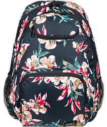 Roxy Shadow Swell Printed 24L Backpack - Anthracite Wonder Garden