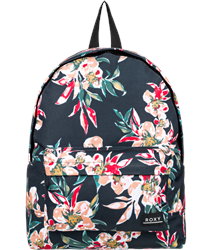 Roxy Sugar Baby Printed 16L Backpack - Anthracite Wonder Garden