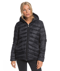 Roxy Coast Road Hooded Jacket - Anthracite