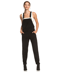 Roxy Anywhere Else Dungarees - Anthracite