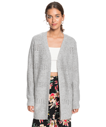 Roxy Take The Key Cardigan - Heritage Heather