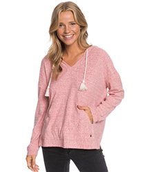 Roxy Lovely Life Hoody - Ash Rose