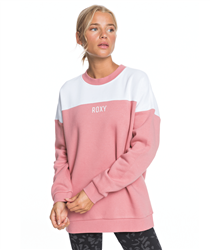 Roxy For The First Time Sweatshirt - Dusty Rose