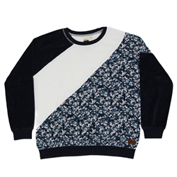 Roxy Surf Spot Sweatshirt - Mood Indigo