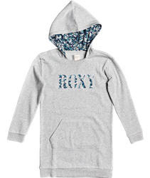 Roxy I Believe Hooded Dress - Heritage Heather