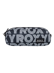 Roxy Da Rock Pencil Case - Anthracite Calif Dreams