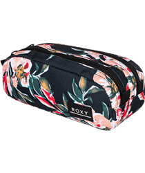 Roxy Da Rock Pencil Case - Anthracite Wonder Garden
