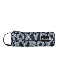 Roxy Off The Wall Pencil Case - Anthracite Calif Dreams