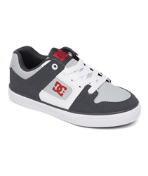 DC Shoes Pure Shoes - Grey & White