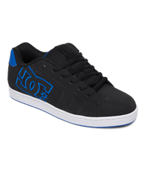 DC Shoes Net Shoes - Black & Royal Blue