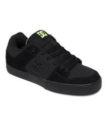 DC Shoes Pure Shoes - Black & Yellow