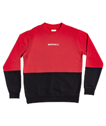 DC Shoes Downing Sweatshirt - Racing Red