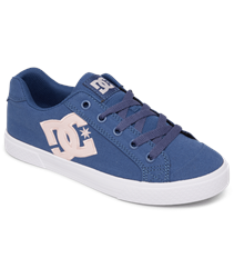 DC Shoes Chelsea Shoes - Navy & Pink
