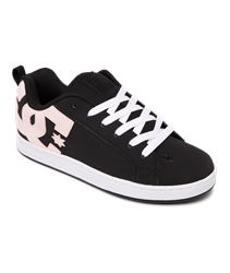 DC Shoes Court Graffik Shoes - Black & Pink
