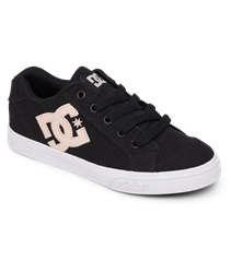 DC Shoes Chelsea Shoes - Black & Pink