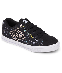 DC Shoes Chelsea Shoes - Black & Splatter
