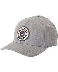 Billabong Walled Snapback Cap - Heather Grey