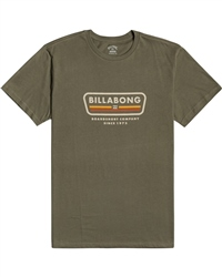Billabong Badge T-Shirt - Military