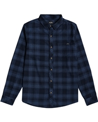 Billabong Eternal Flannel Shirt - Dark Blue