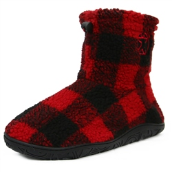 Bedroom Athletics Hardy Short Slipper Boot - Red
