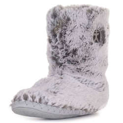 Bedroom Athletics Cole Slipper Boot - Grey Husky
